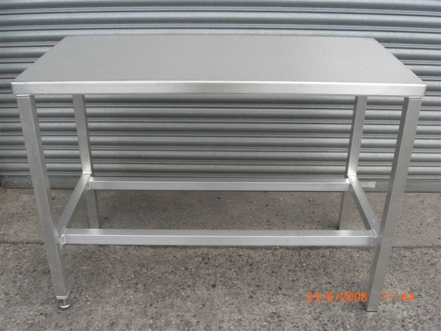 Stainless Steel Top Table